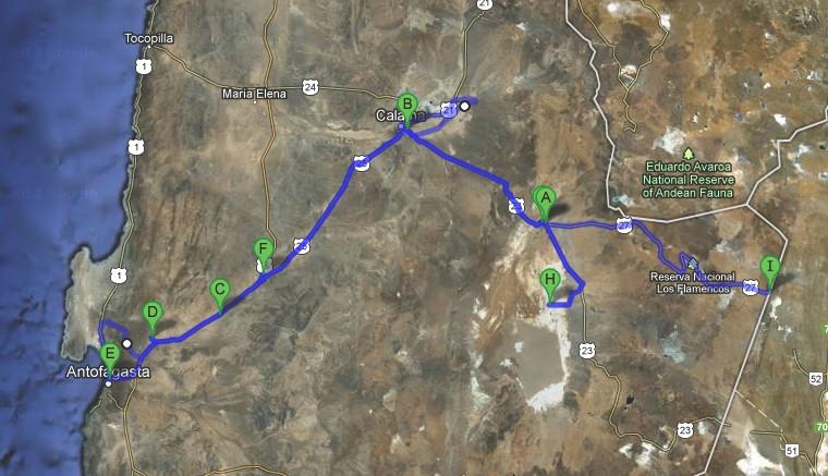 2012 Route Chile